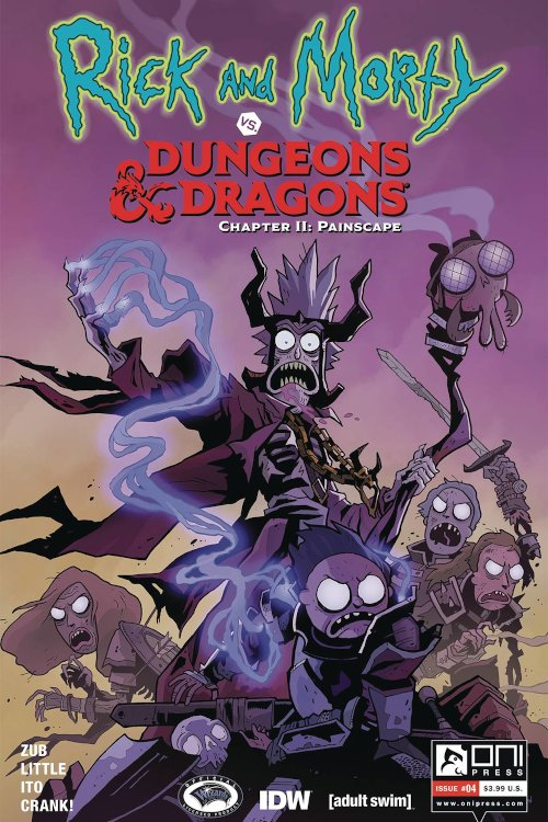 Oni Press -- Rick and Morty vs. D&D II