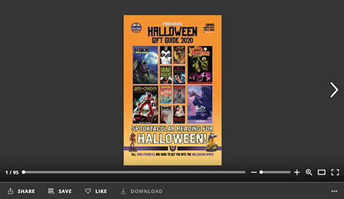 Halloween 2020 Torrentr PREVIEWS Halloween Gift Guide 2020 Available for Download Now